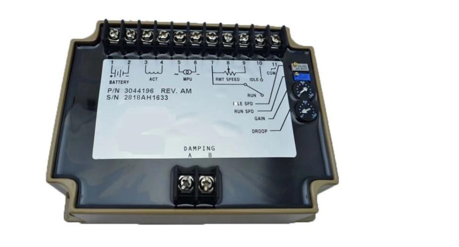 00:00 00:16  Увеличить изображение EFC карты управления генератором 3044196 регулятор скорости EFC карты управ