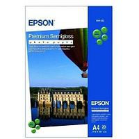 Фотобумага C13S041332 Premium Semigloss Photo Paper A4 (20л)