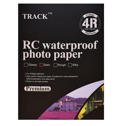 Фотобумага 4-R 260г  1х сторонний сатин RC(100)new