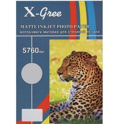 Фотобумага X-GREE A4/50+10/190г  Матовая  MS190-A4-50 (20)
