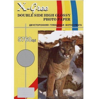 Фотобумага X-GREE A4/50/220г  Глянцевая Двухсторонняя 5H220DG-А4-50(20)