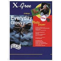 Фотобумага X-GREE Глянцевая EVERYDAY  A5/100/240г  E7240-А5-100(40)