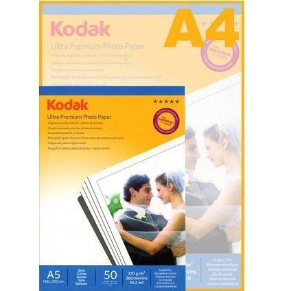 Фотобумага атласная KODAK Photo RSP Satin A5/50/270г/м CAT9891-006