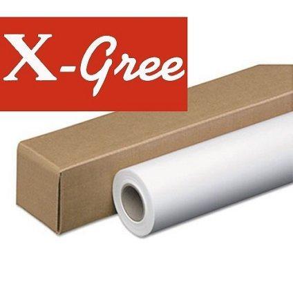 """Фотобумага рулонная 17"""" X-Gree 53W200*17*30 премиум глянцевая (432мм*30м*50мм) 200 г/м2"""