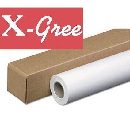"""Фотобумага рулонная 42"""" X-Gree RS260S-42*30 RC глянцевая атласная SATIN (1067мм*30м*50мм) 260 г/м2"""