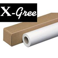"Холст рулонный 50"" X-Gree CANVAS 240  полиэстеровый (1270мм*30м*50мм) 240 г/м2"