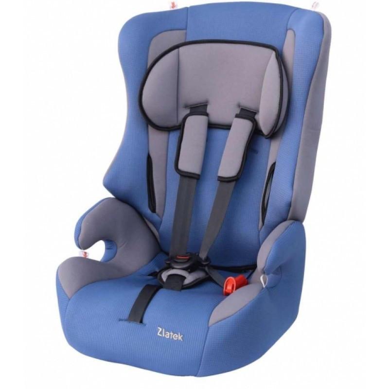 """Детское автомобильное кресло ZLATEK """"Atlantic LUX"""" цвета в ассортименте"""