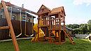 Детская площадка ФУНТИК с винтовой трубой и горкой, фото 2
