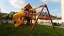 Детская площадка ФУНТИК с винтовой трубой и горкой, фото 3