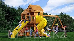 Детская площадка ФУНТИК с винтовой трубой и горкой