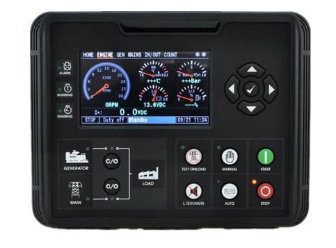 ЖК дисплей ATS генератор AMF контроллер DC72D