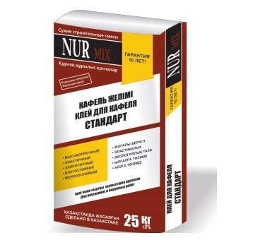 Клей для кафеля Стандарт NUR MIX 25 кг