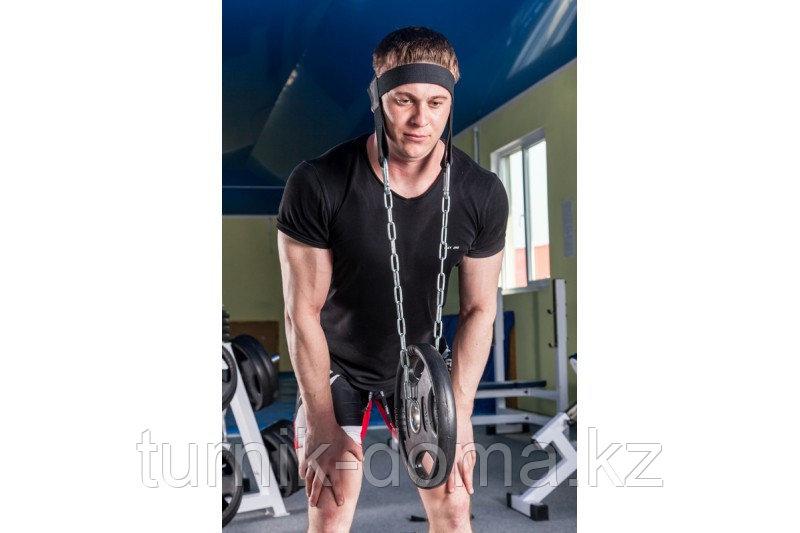 Упряжь D3 для тренировки мышц шеи х/б стропа - фото 3