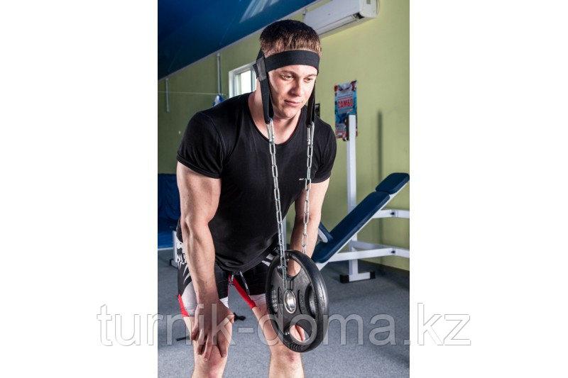 Упряжь D3 для тренировки мышц шеи х/б стропа - фото 4