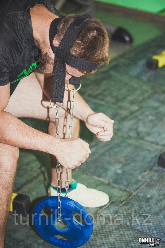 Упряжь D3 для тренировки мышц шеи х/б стропа - фото 5