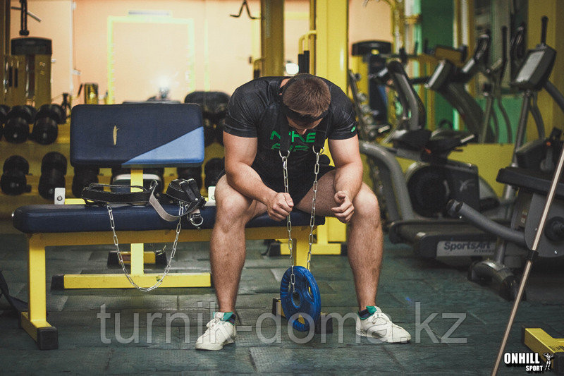 Упряжь D3 для тренировки мышц шеи х/б стропа - фото 6