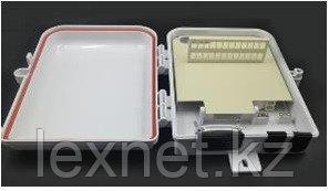 Оптический распределительный шкаф FTTH-А24+пигтейлы+адаптеры (24шт)