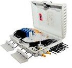 Оптический распределительный шкаф FTTH-А16+пигтейлы+адаптеры (16шт)