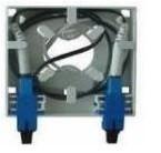 Настенная оптическая розетка с одним пигтейлом SC и адаптерам