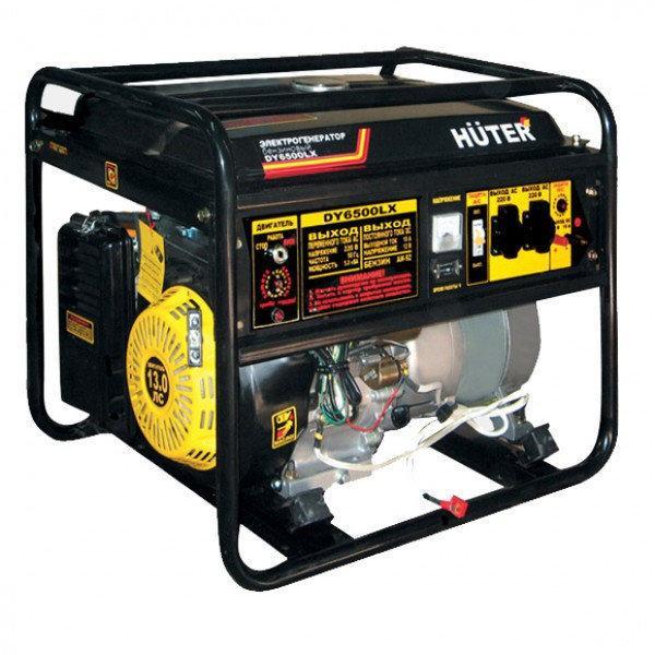 Электрогенератор HUTER DY6500LXA (5000Вт AVR и электростартер)