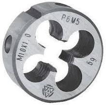 Плашки круглые Р6М5 6е ГОСТ 9740-71