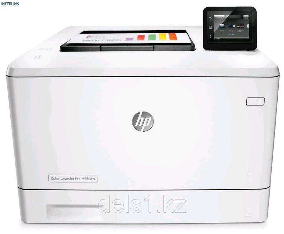 Лазерный принтер для цветной печати HP Color LaserJet  Pro M452nw