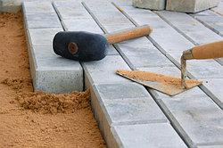 Укладка тротуарной плитки и брусчатки в Аламты