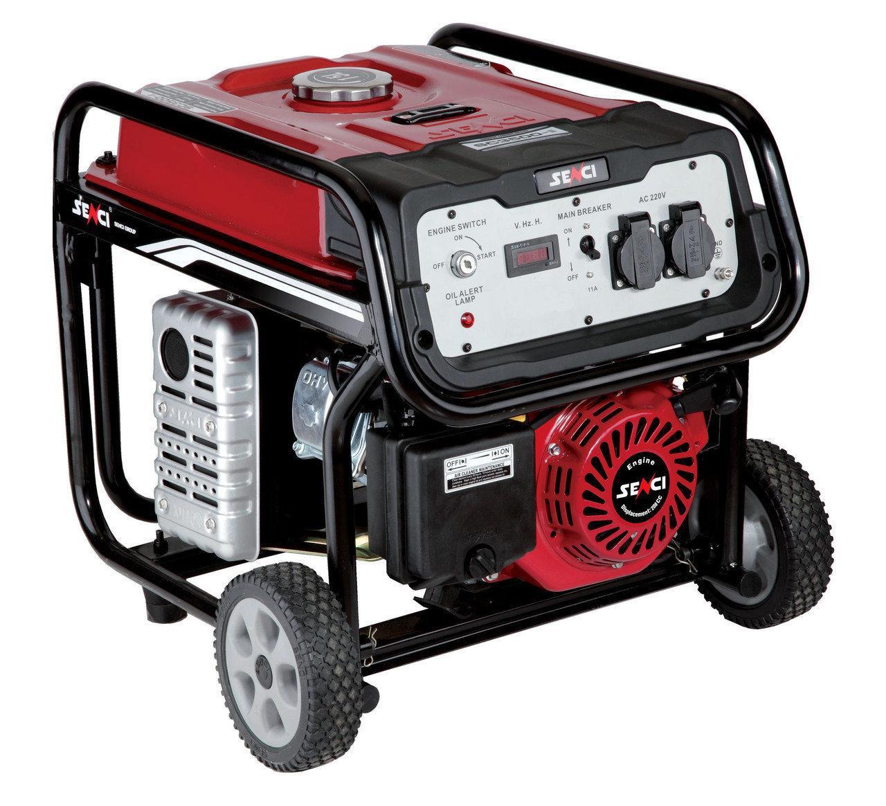 Электрогенератор бензиновый Senci SC3500-II
