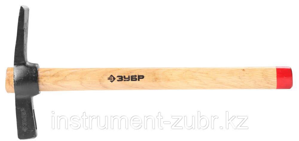 Молоток-кирочка КАМЕНЩИКА 500г с деревянной рукояткой, ЗУБР Мастер 2015-05