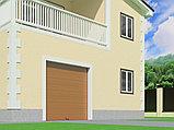 Гаражные секционные ворота с пружинами растяжения RSD01BIW, фото 2