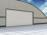 Промышленные секционные ворота из алюминиевых панелей ISD03, фото 2