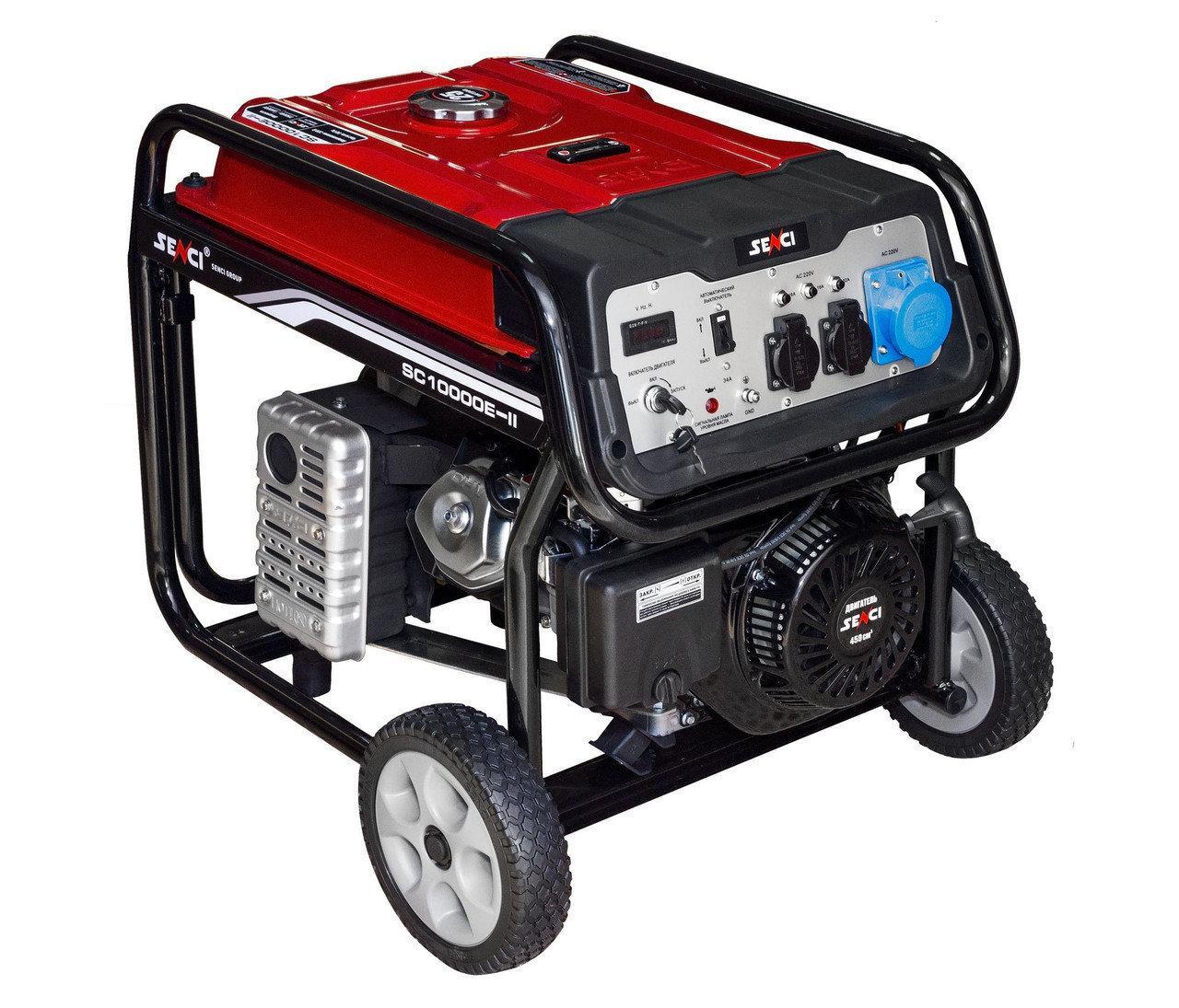 Электрогенератор бензиновый Senci SC6000-II