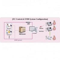 Центральная станция мониторинга к мониторам фетальным серии FC, модели FC 700 и FC 1400 Fetal XP
