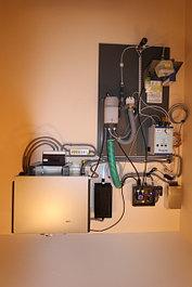 Оборудование и материалы для паровых комнат.