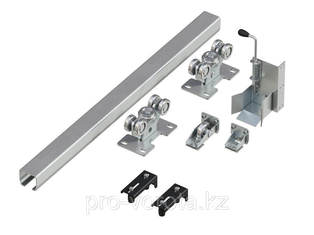 Система роликов и направляющих для балки х/к 95х88х5 L=6000мм