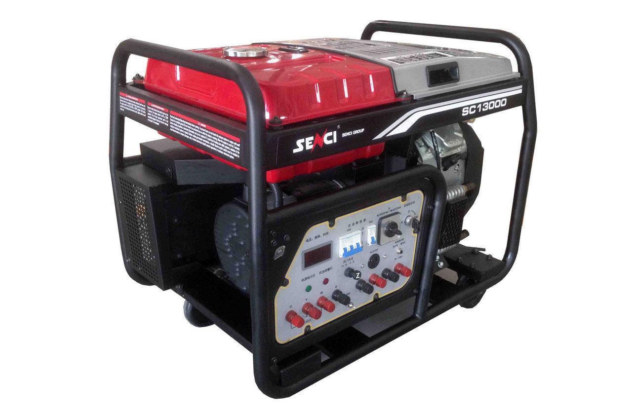 Электрогенератор бензиновый Senci SC13000/380