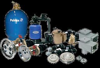 Оборудование и материалы для бассейнов.