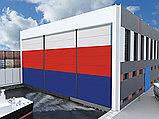 Ангарные ворота шторного типа мультисекционные, фото 2