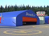Ангарные ворота шторного типа моносекционные, фото 2
