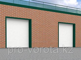 Стальные рулонные ворота с внутривальным электроприводом из профиля RHS117/0,8, RHS117P/0,8