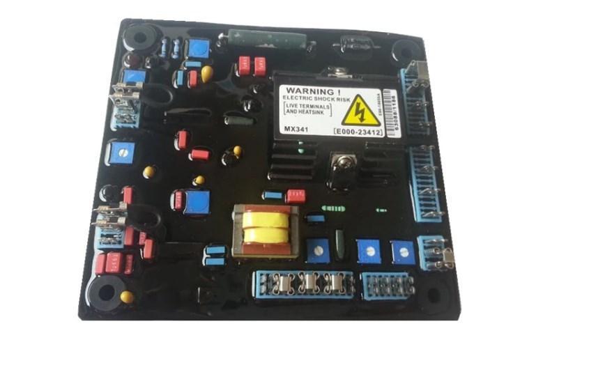 Дизельный генератор, автоматический регулятор напряжения MX341Red, MX341-A