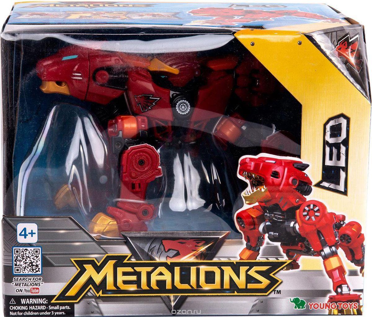 Трансформер Metalions Металионс Лео 314028