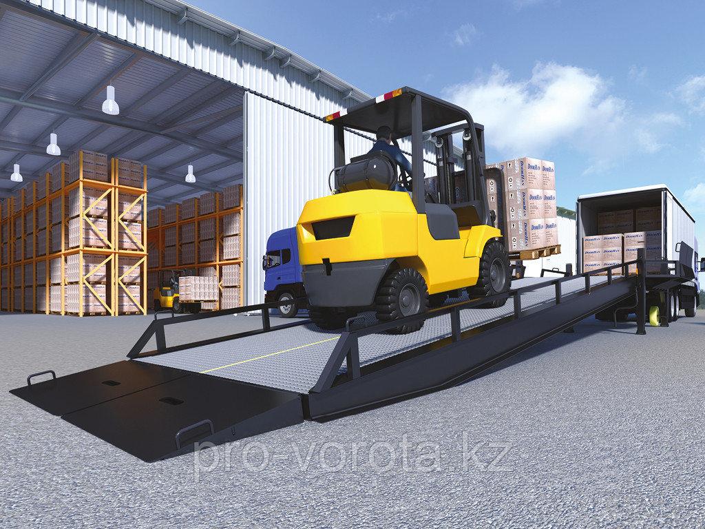 Рампа мобильная с опорой на кузов автомобиля серии RMTS