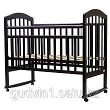 Кроватка качалка Топотушки Лира 2 венге 00-75523