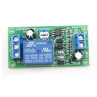 Реле задержки 12В,5/45ма,0-60сек,chip NE555,комутация 220в/10А