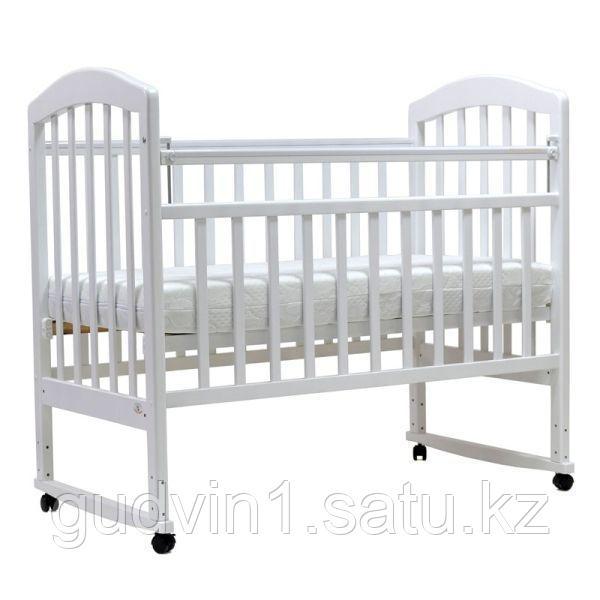 Кроватка качалка Топотушки Лира 2 белый 00-75522