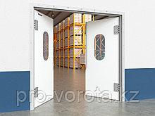 Пластиковые маятниковые двери серии SWD