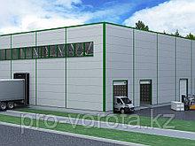 Каркасные здания по индивидуальным проектам