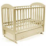 Детская кроватка Топотушки Дарина-6 венге-слоновая кость 00-75518, фото 2