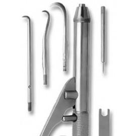 Н-174 Набор инструментов для снятия зубных протезов и ортодонтических аппаратов